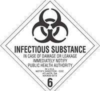 INFECTIOUS SUBSTANCE Logo Photo - 1
