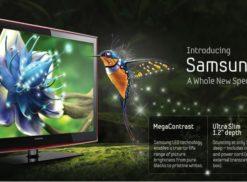 LED TV by Samsung Logo | Logos Rates