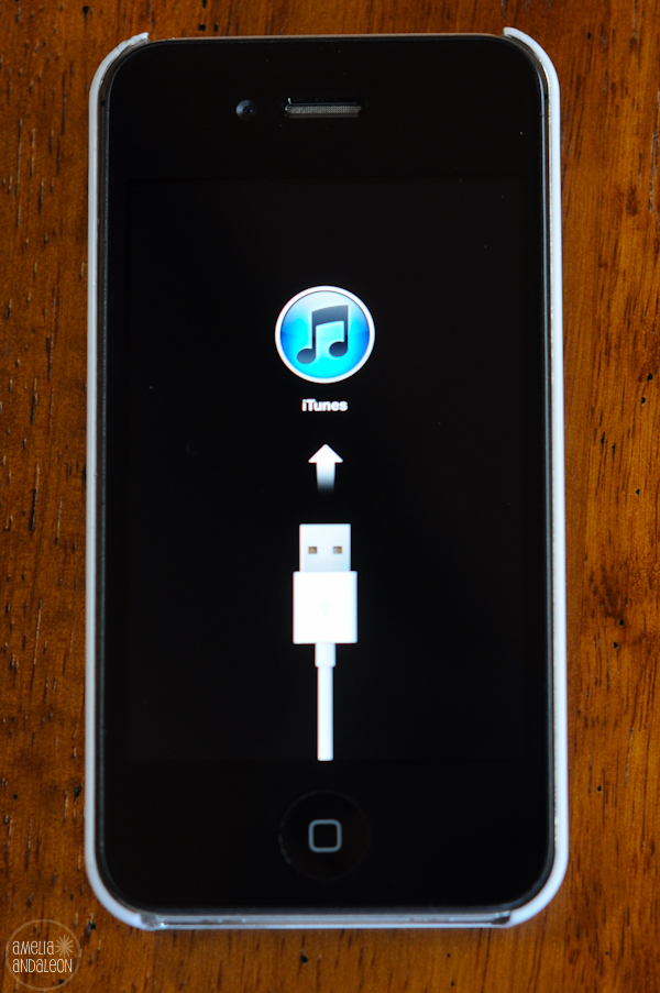 Что делать если слетела прошивка на iphone 3gs