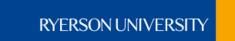 Ryerson Polytechnic University Logo Photo - 1