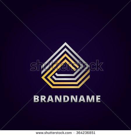 Abstract Diamond Logo Template photo - 1