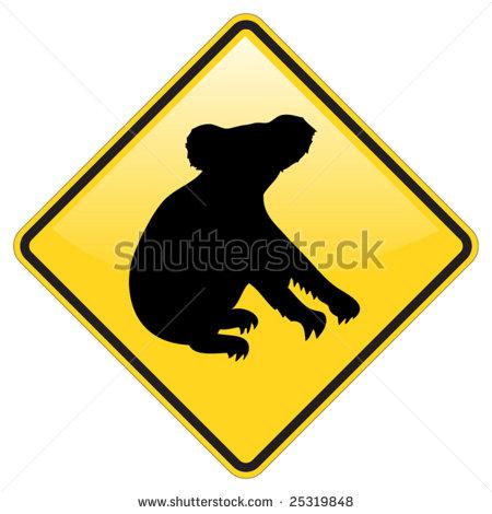 BEAR WARNING VECTOR SIGN Logo photo - 1