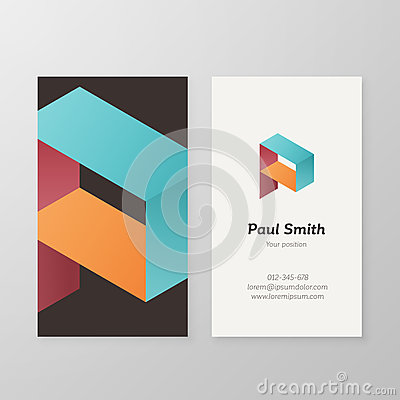 Business P Logo Template photo - 1