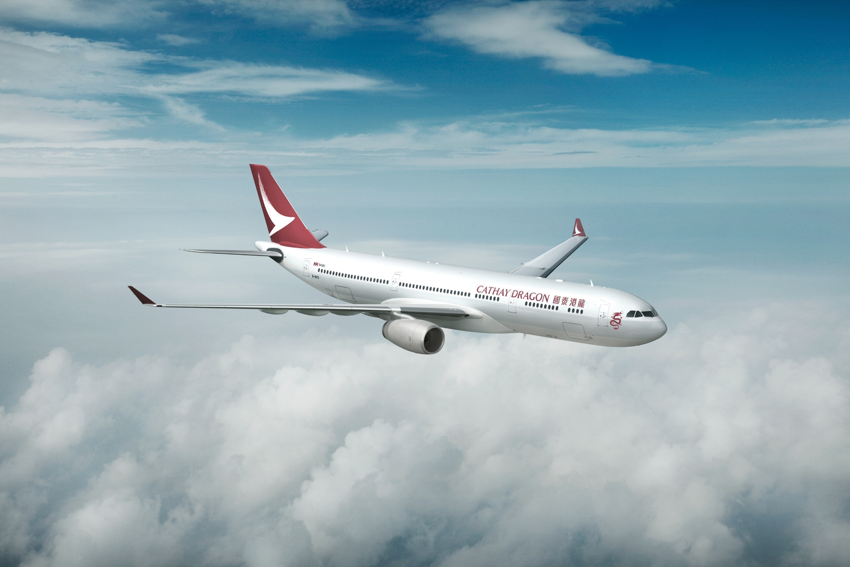Cathay Dragon Logo photo - 1