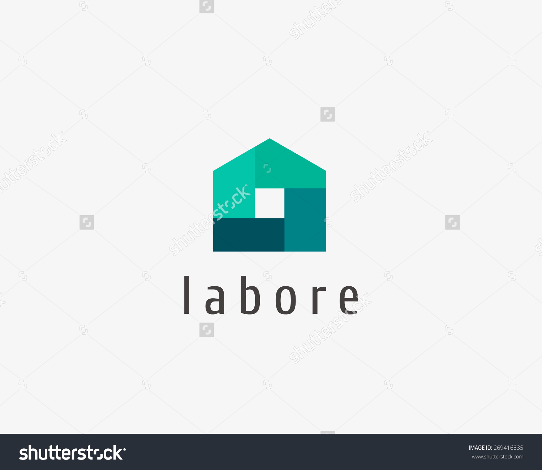 House Logo Vector  Download Free Vector Art Stock