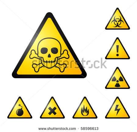 DANGER ELECTRICITY VECTOR SIGN Logo photo - 1