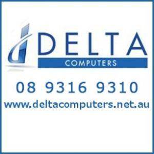 Delta Computers Logo photo - 1