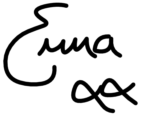 Emma Bunton Signature Logo photo - 1
