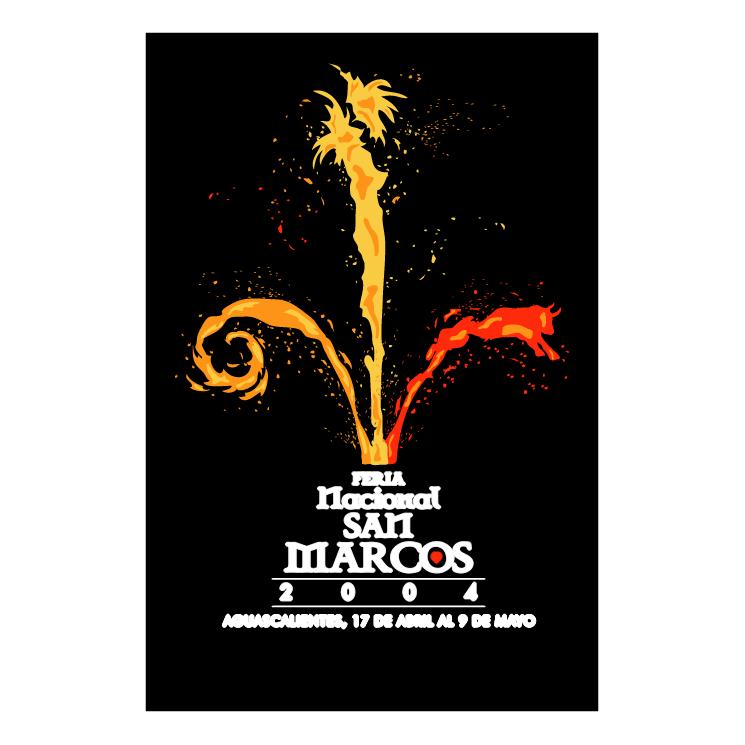 Feria Nacional de San Marcos 2004 Logo photo - 1