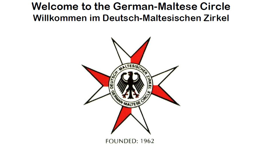 German-Maltese Circle Logo photo - 1
