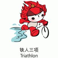 Mascota Pekin 2008 (Triathlon) - Beijing 2008 Mascot (Triathlon) Logo photo - 1