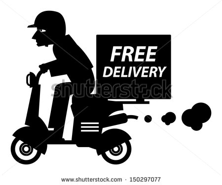 Pizza Boy Delivery Logo photo - 1