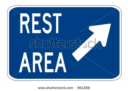 REST AREA VECTOR ROAD SIGN Logo photo - 1