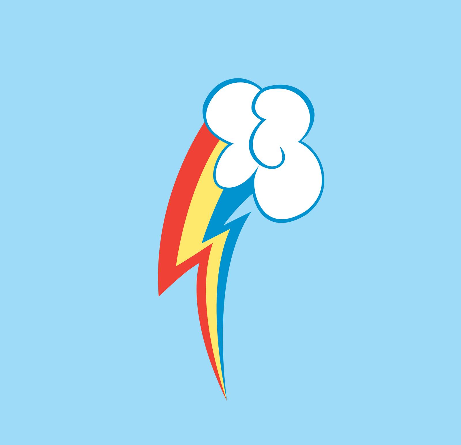 Rainbow Dash Cutie Mark Logo Logos Rates