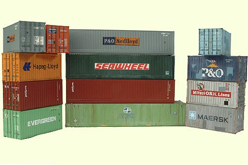 Sea Container Shipping Logo photo - 1