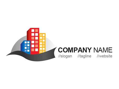 Skyscraper Logo Template photo - 1