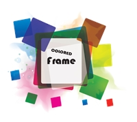 Squares Frame Logo Template photo - 1