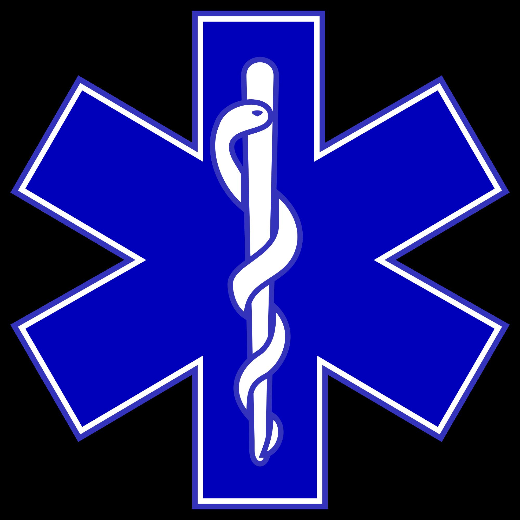Star Of Life Blue Logo photo - 1