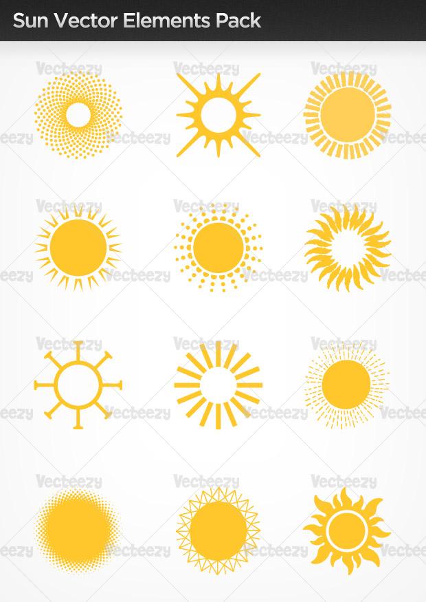 Sun Airplane Art Logo Template photo - 1