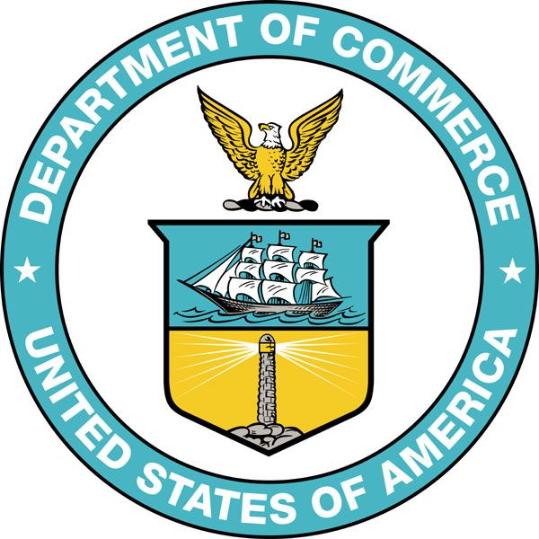 U.S. Department of Commerce Logo photo - 1