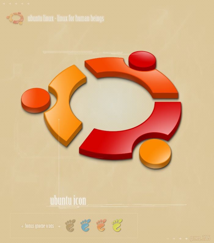 Ubuntu Linux logo photo - 1