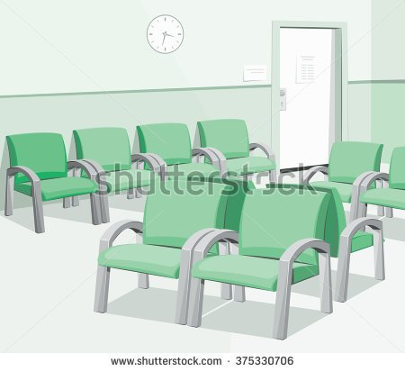 WAITING ROOM SYMBOL VECTOR Logo photo - 1