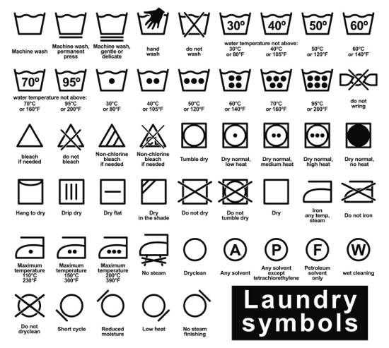 Wash In Water Vector Symbol Logo Logos Rates